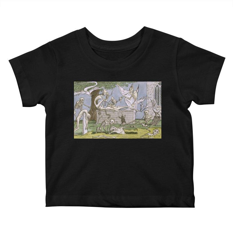The Graveyard Dance Kids Baby T-Shirt by RNF's Artist Shop