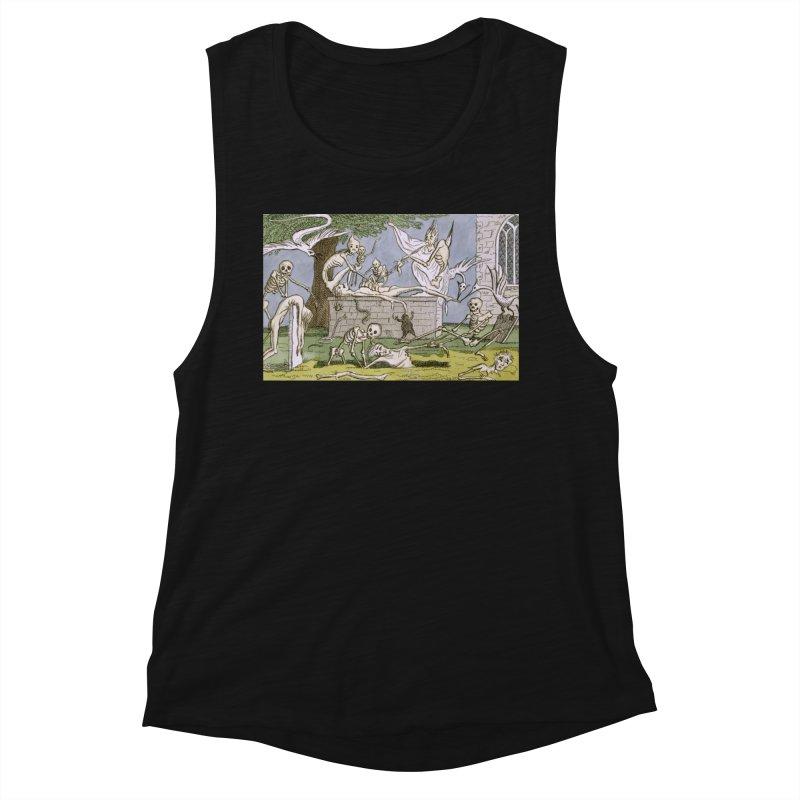 The Graveyard Dance Women's Tank by RNF's Artist Shop
