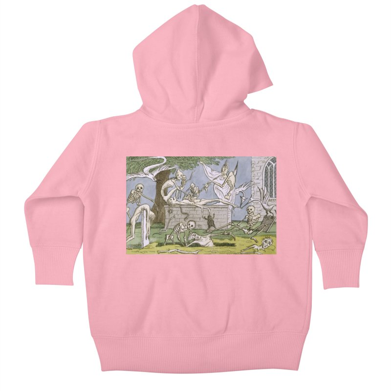The Graveyard Dance Kids Baby Zip-Up Hoody by RNF's Artist Shop