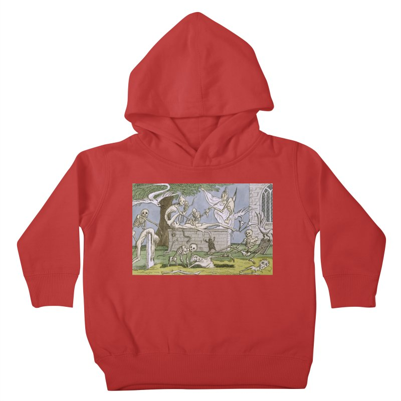 The Graveyard Dance Kids Toddler Pullover Hoody by RNF's Artist Shop
