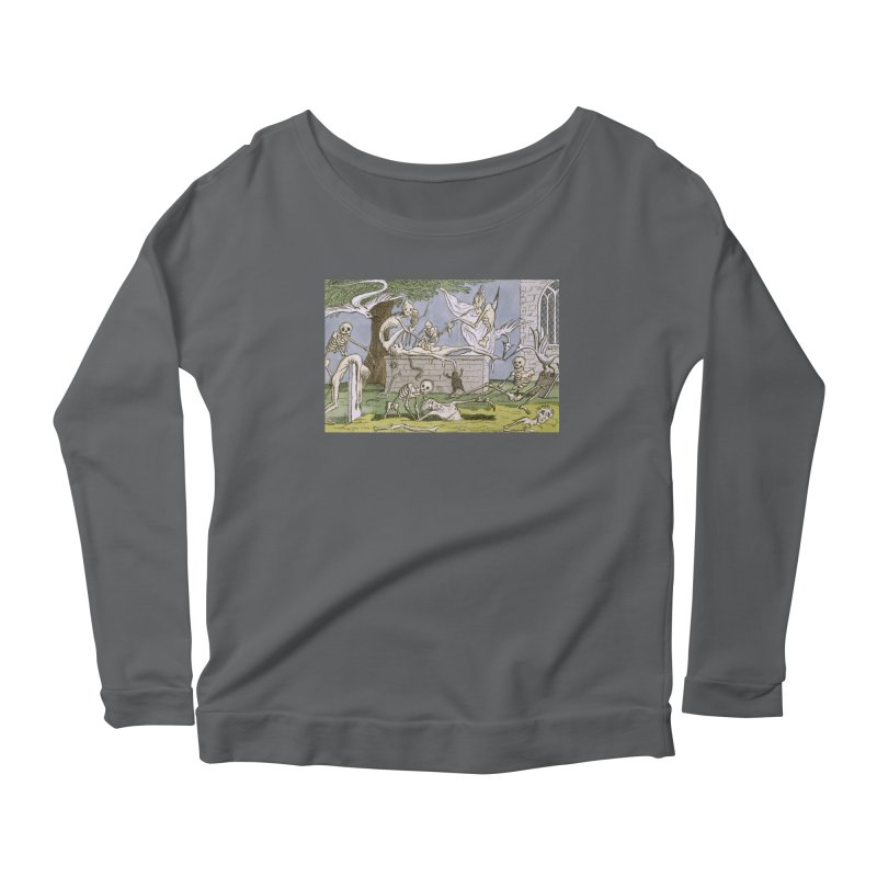 The Graveyard Dance Women's Longsleeve T-Shirt by RNF's Artist Shop