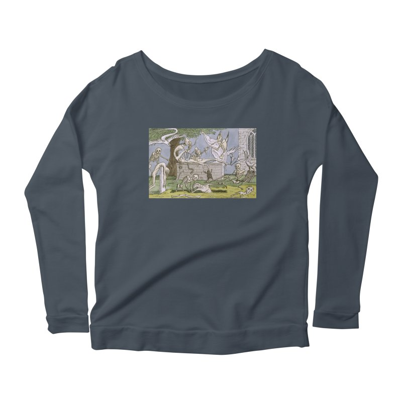 The Graveyard Dance Women's Scoop Neck Longsleeve T-Shirt by RNF's Artist Shop