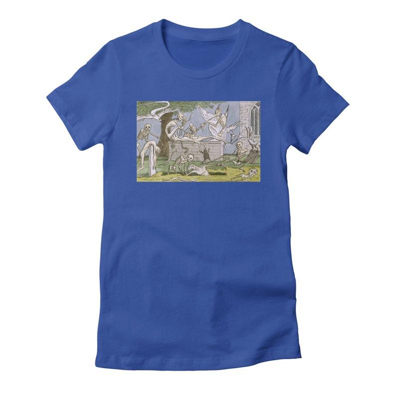 The Graveyard Dance Women's Fitted T-Shirt by RNF's Artist Shop