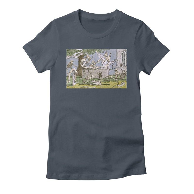 The Graveyard Dance Women's T-Shirt by RNF's Artist Shop