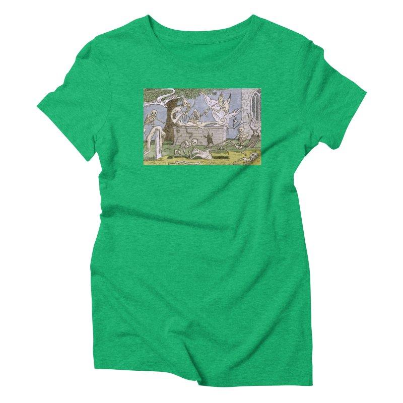 The Graveyard Dance Women's Triblend T-Shirt by RNF's Artist Shop