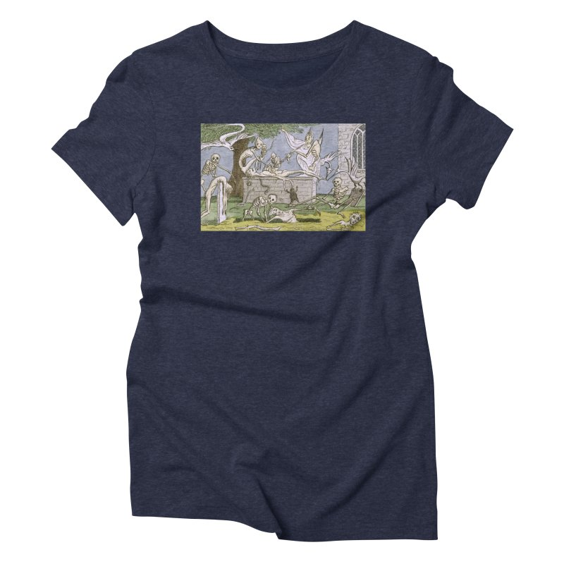 The Graveyard Dance Women's Triblend T-Shirt by RNF's Artist Shop