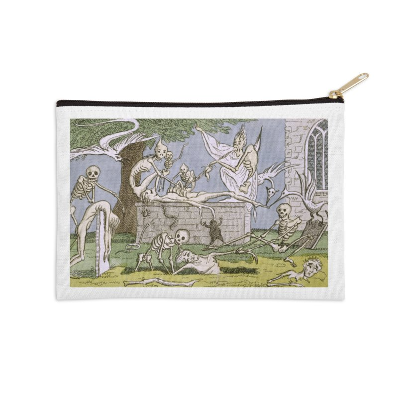 The Graveyard Dance Accessories Zip Pouch by RNF's Artist Shop