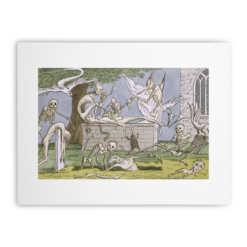 The Graveyard Dance Home Stretched Canvas by RNF's Artist Shop