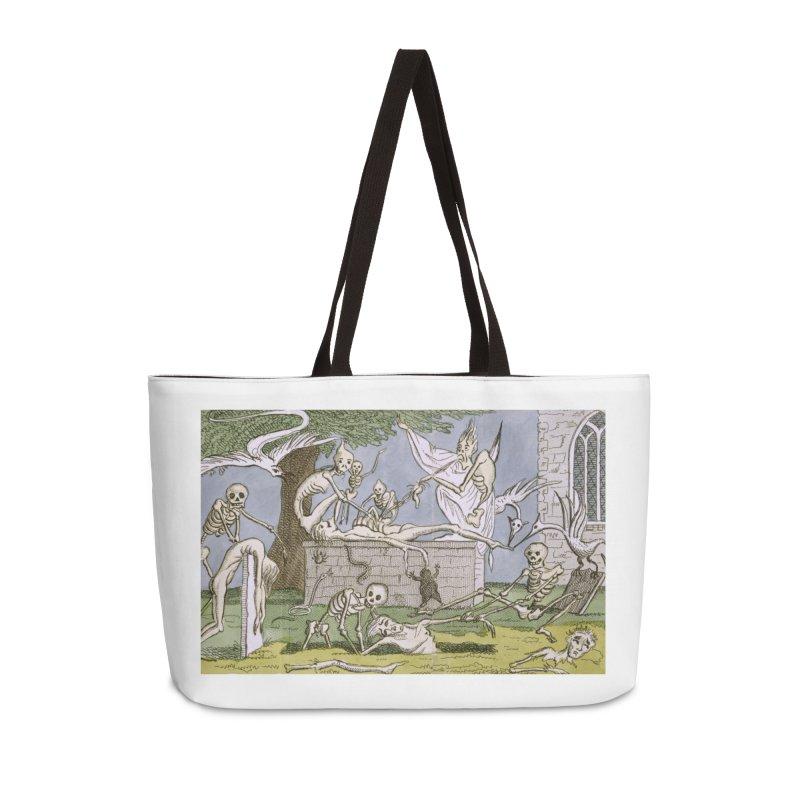 The Graveyard Dance Accessories Weekender Bag Bag by RNF's Artist Shop