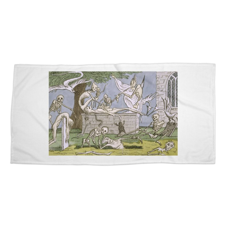 The Graveyard Dance Accessories Beach Towel by RNF's Artist Shop