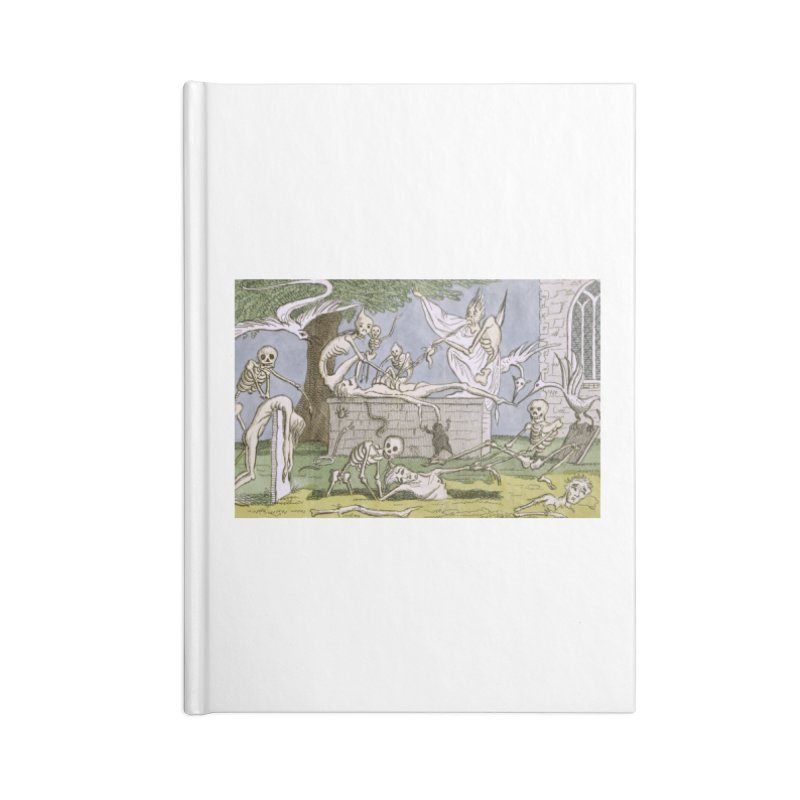 The Graveyard Dance Accessories Blank Journal Notebook by RNF's Artist Shop