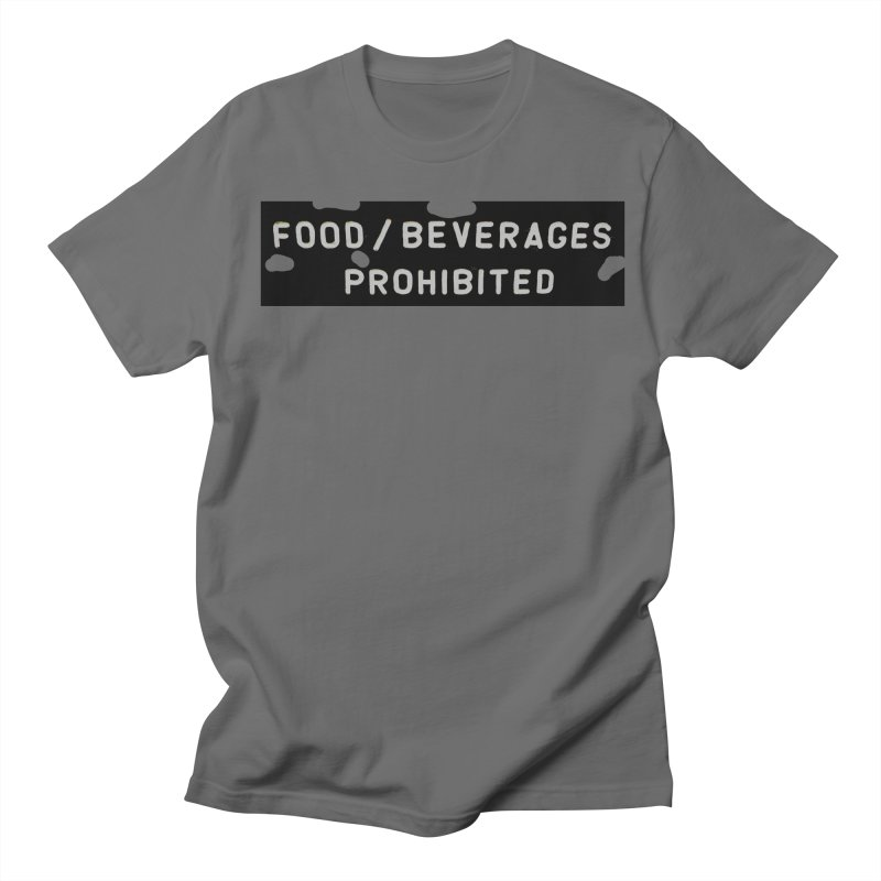 Food in Men's Regular T-Shirt Asphalt by RNF's Artist Shop