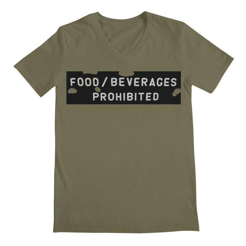 Food Men's Regular V-Neck by RNF's Artist Shop