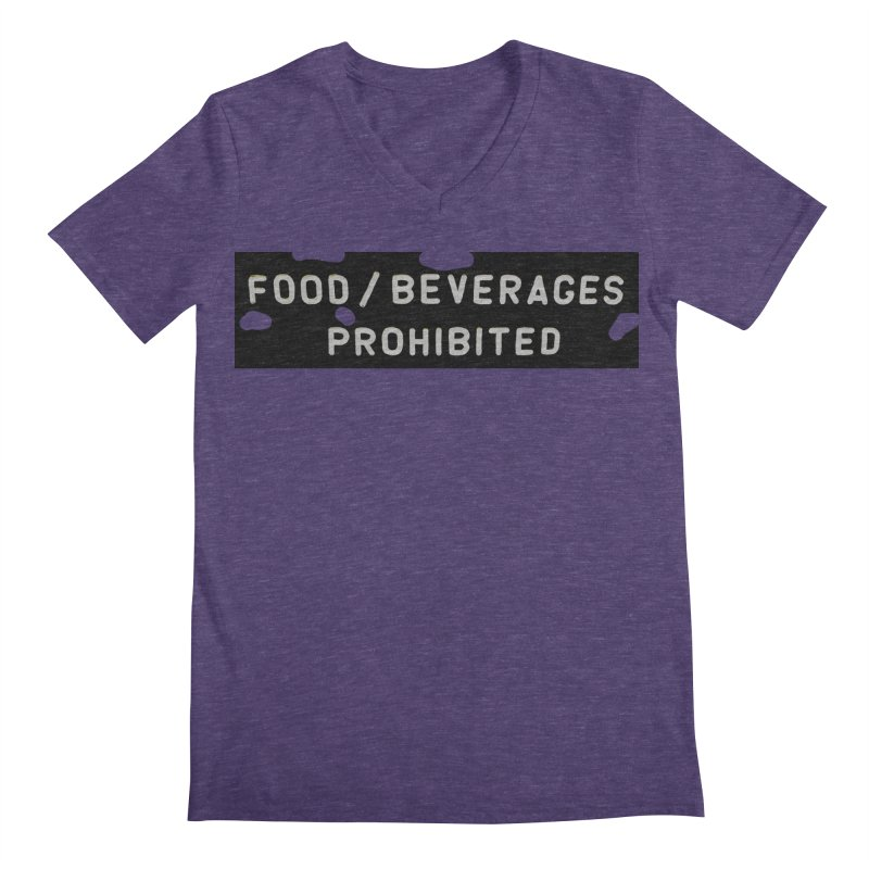 Food Men's Regular V-Neck by RNF's Artist Shop