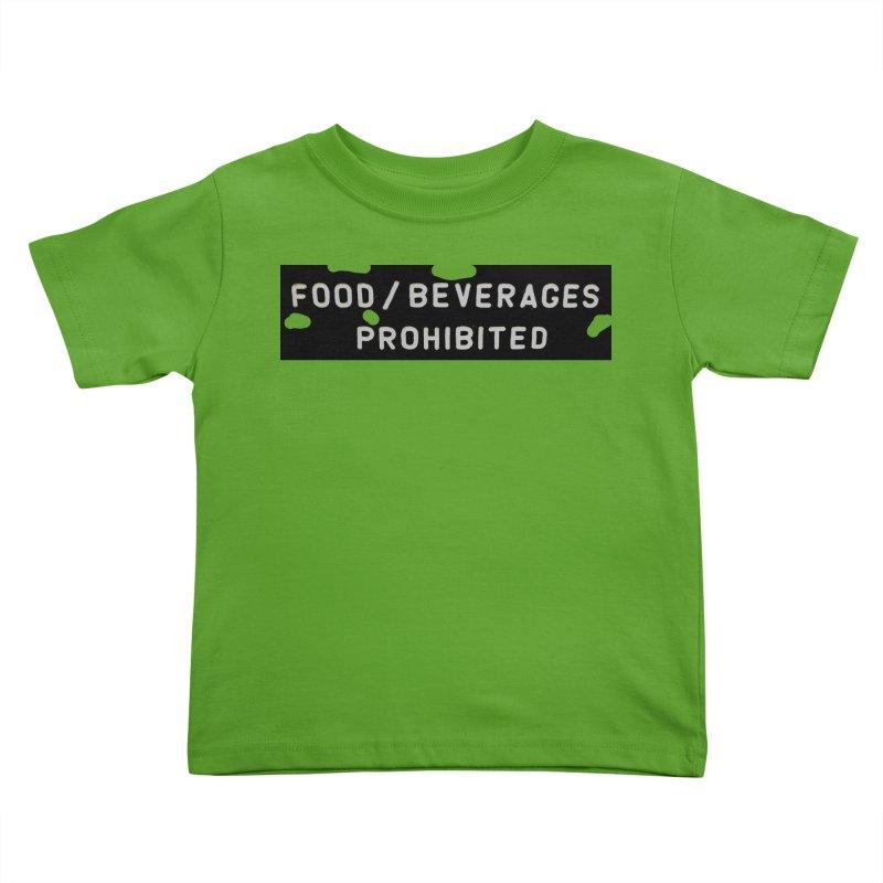 Food Kids Toddler T-Shirt by RNF's Artist Shop