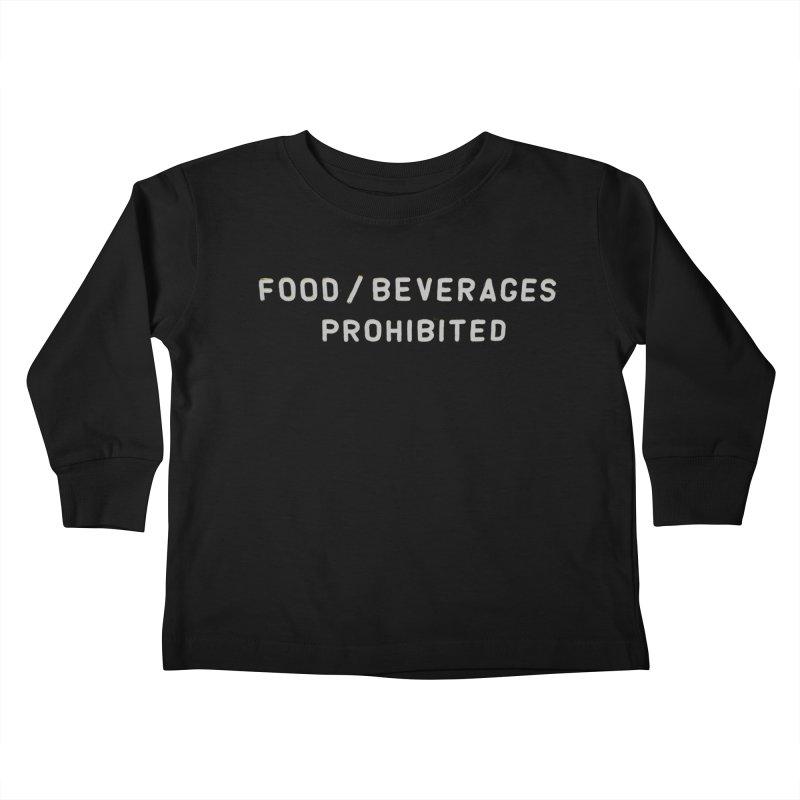 Food Kids Toddler Longsleeve T-Shirt by RNF's Artist Shop