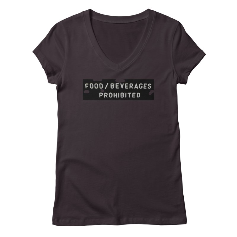 Food Women's V-Neck by RNF's Artist Shop
