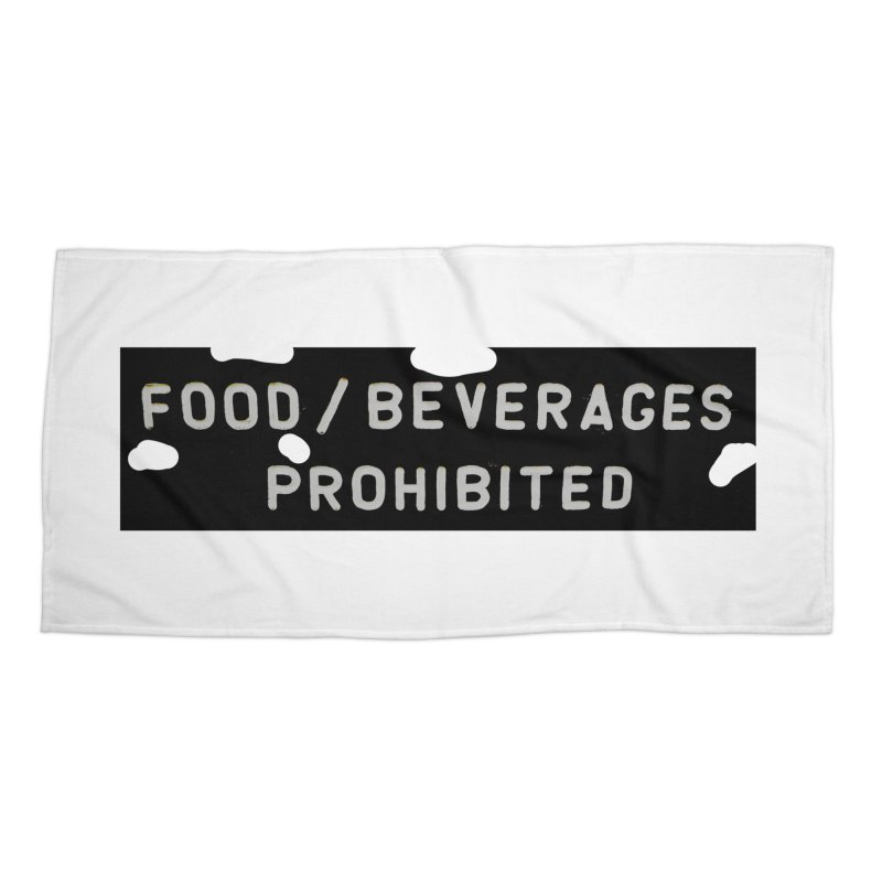 Food Accessories Beach Towel by RNF's Artist Shop