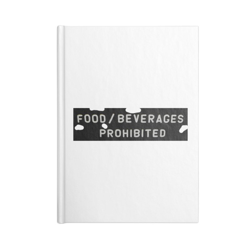 Food Accessories Blank Journal Notebook by RNF's Artist Shop