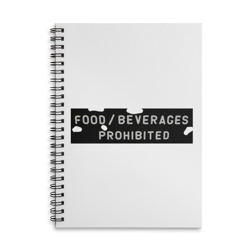 Food Accessories Lined Spiral Notebook by RNF's Artist Shop