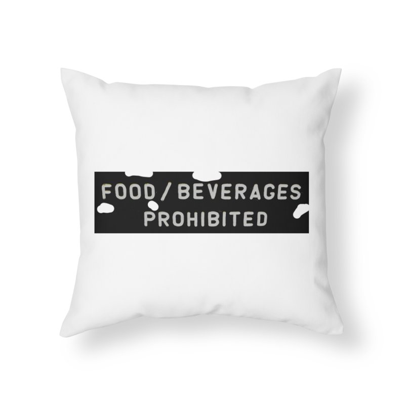 Food Home Throw Pillow by RNF's Artist Shop