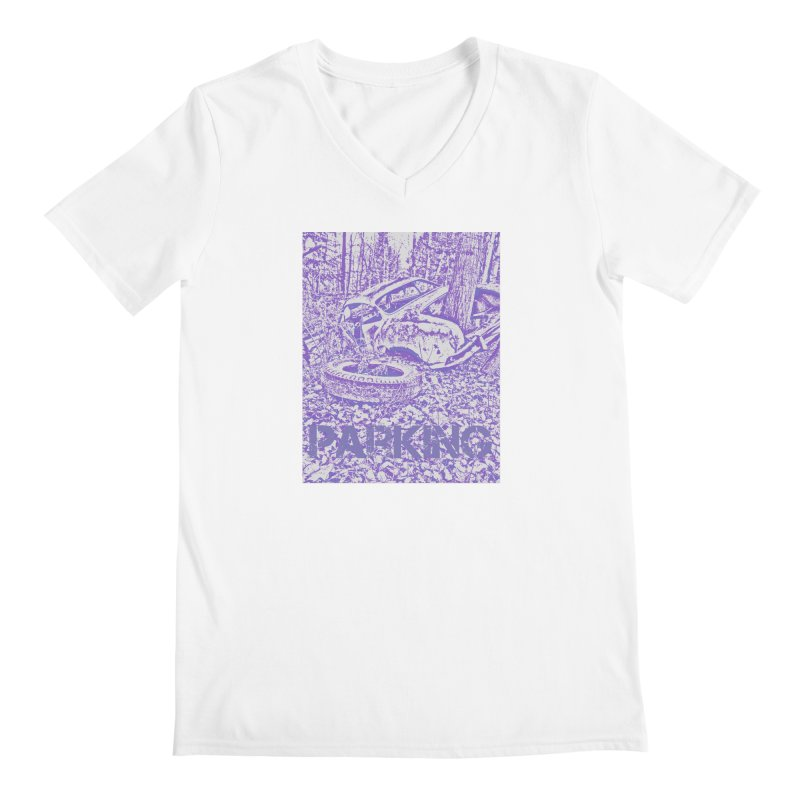 Parking Men's Regular V-Neck by RNF's Artist Shop
