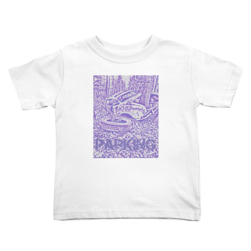 Parking Kids Toddler T-Shirt by RNF's Artist Shop