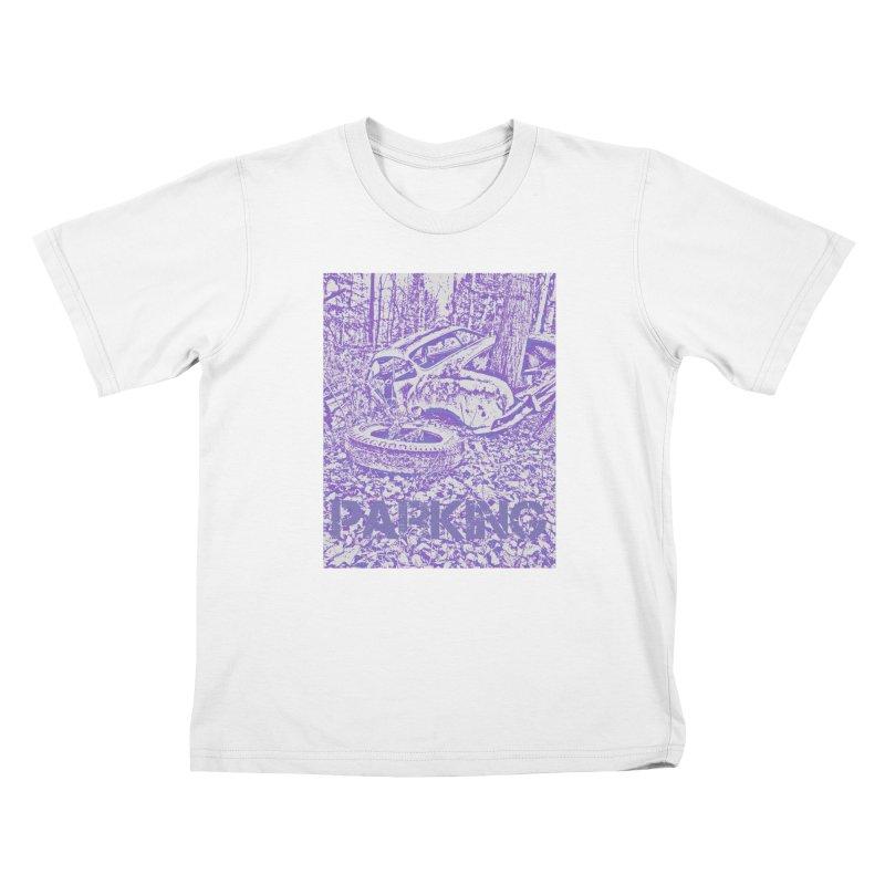 Parking Kids T-Shirt by RNF's Artist Shop