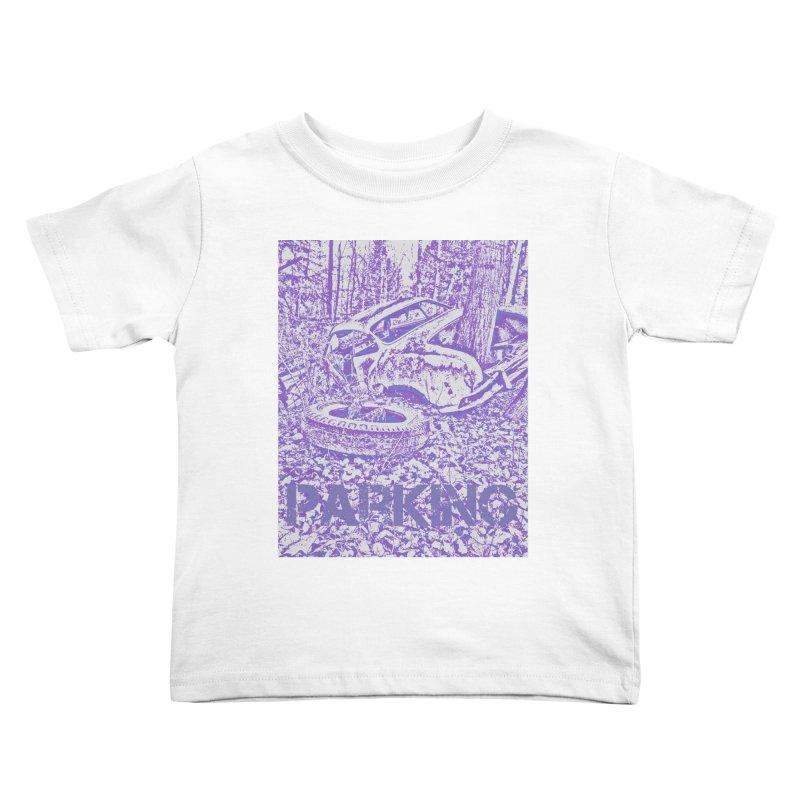 Parking Kids Toddler T-Shirt by RNF's Artist Shop