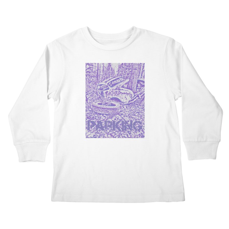 Parking Kids Longsleeve T-Shirt by RNF's Artist Shop