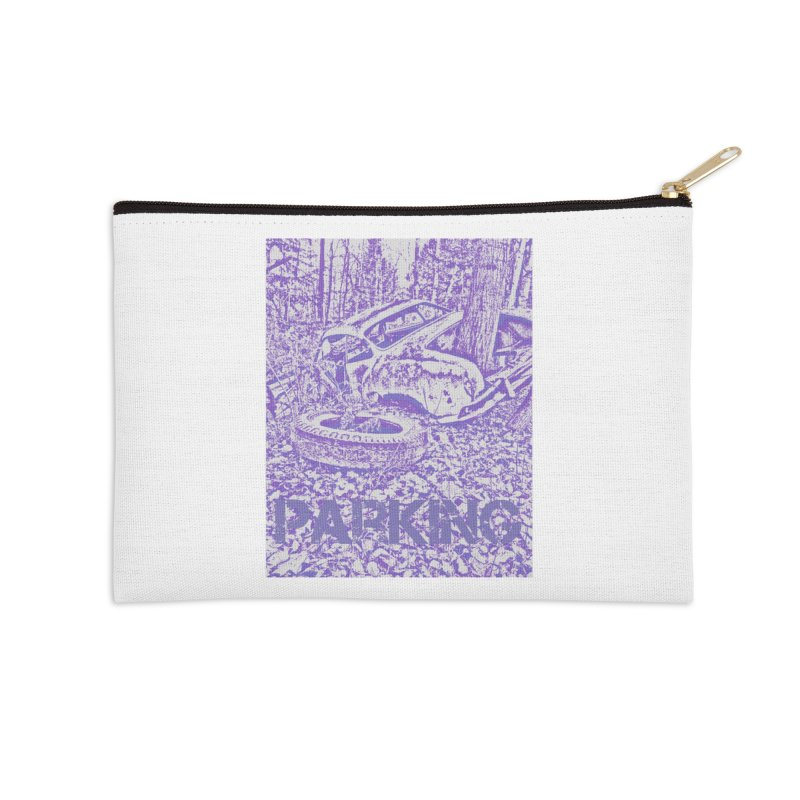 Parking Accessories Zip Pouch by RNF's Artist Shop
