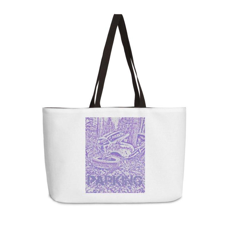Parking Accessories Weekender Bag Bag by RNF's Artist Shop