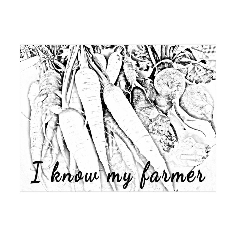 I know my farmer Kids Pullover Hoody by RNF's Artist Shop