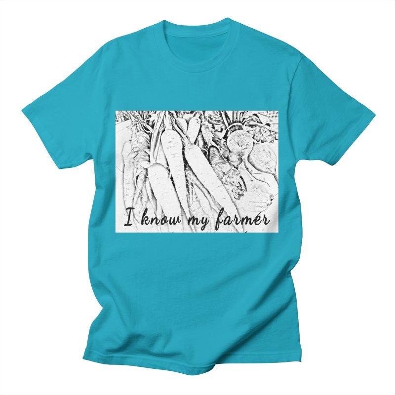 I know my farmer Men's T-Shirt by RNF's Artist Shop