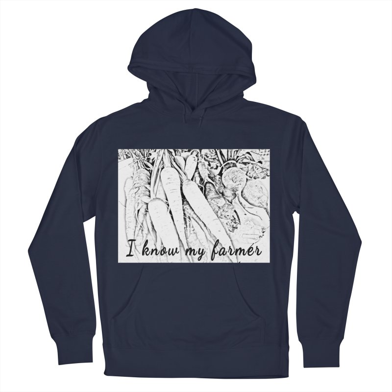 I know my farmer Women's French Terry Pullover Hoody by RNF's Artist Shop