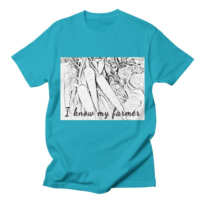 I know my farmer Men's T-Shirt by RNF's Artist Shop