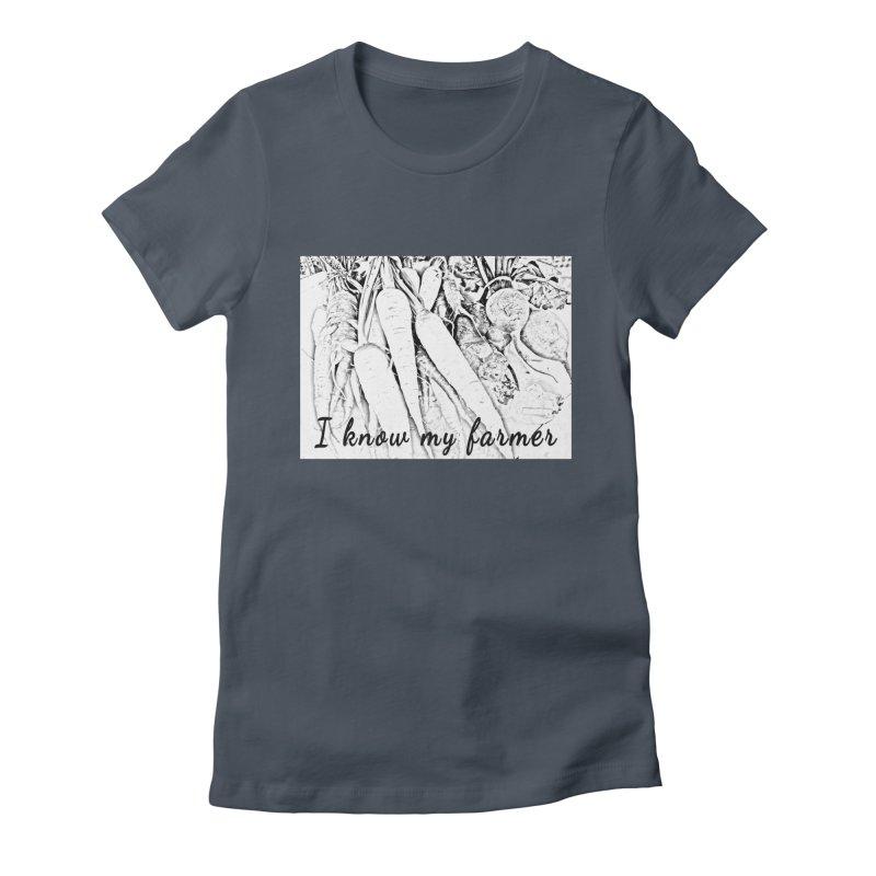 I know my farmer Women's T-Shirt by RNF's Artist Shop