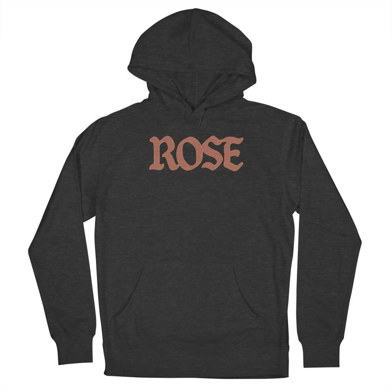 Logo T Women's French Terry Pullover Hoody by ROSEFinch's Artist Shop