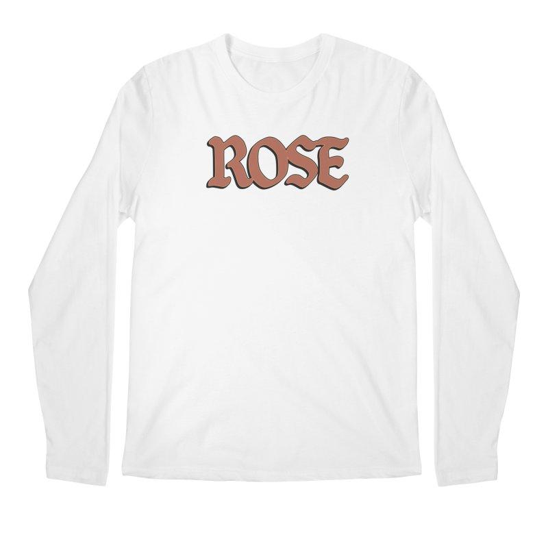 Logo T Men's Regular Longsleeve T-Shirt by ROSEFinch's Artist Shop