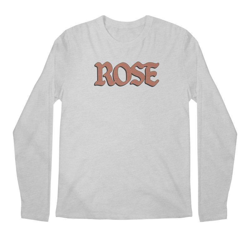 Logo T Men's Longsleeve T-Shirt by ROSEFinch's Artist Shop