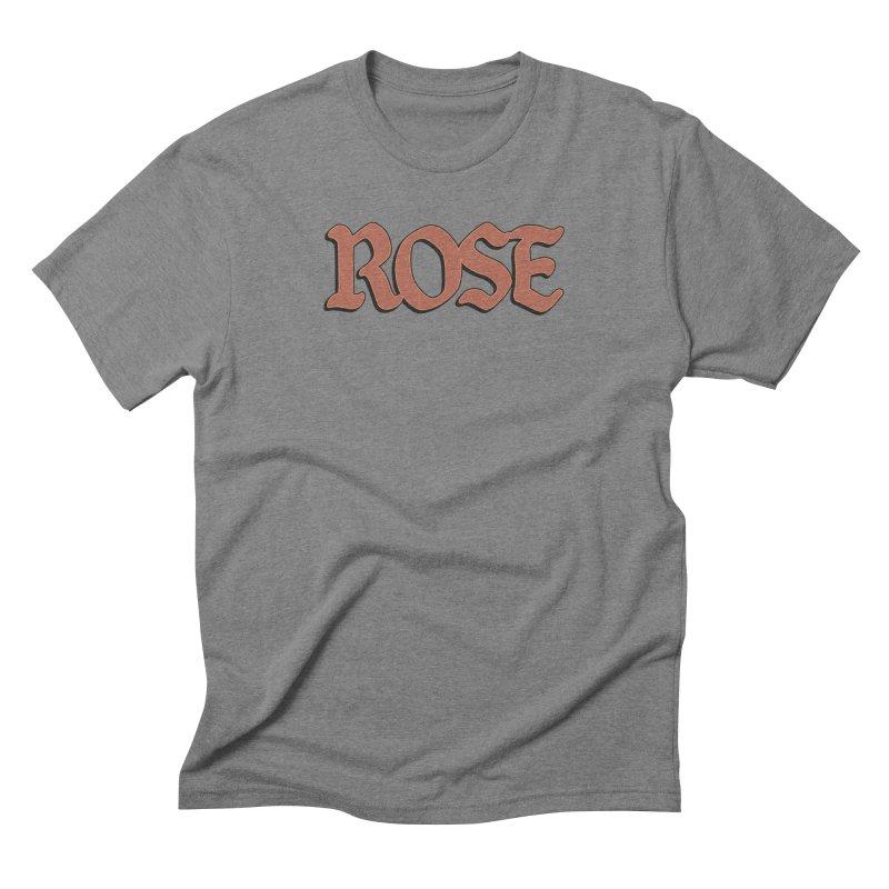 Logo T Men's Triblend T-Shirt by ROSEFinch's Artist Shop