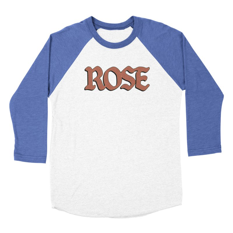Logo T Women's Baseball Triblend T-Shirt by ROSEFinch's Artist Shop