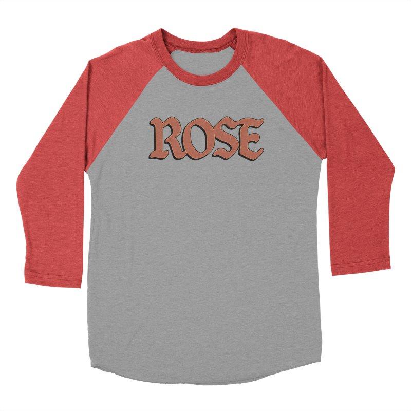 Logo T Men's Baseball Triblend Longsleeve T-Shirt by ROSEFinch's Artist Shop