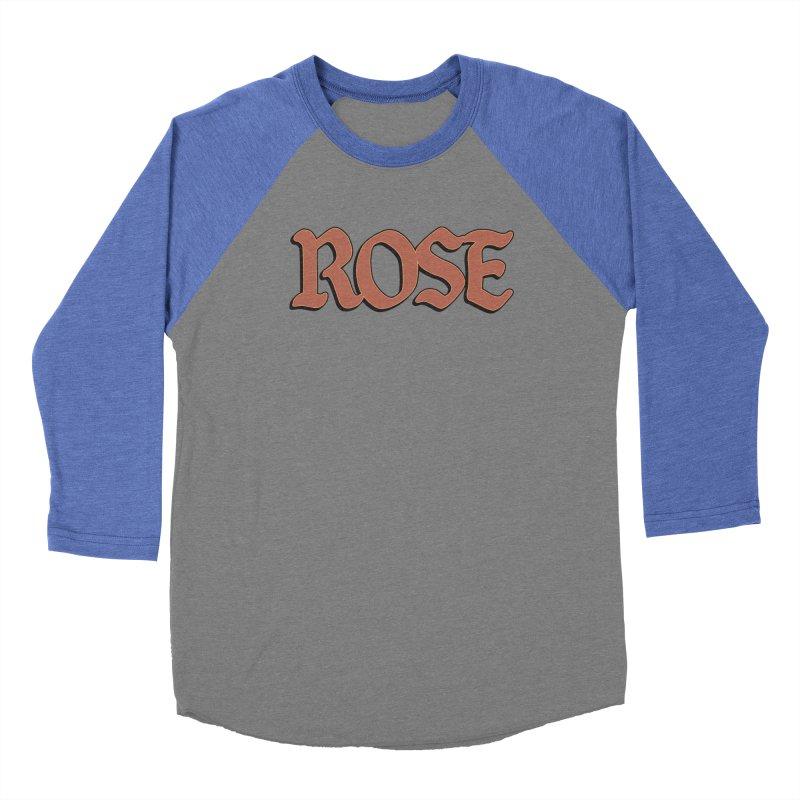 Logo T Men's Baseball Triblend T-Shirt by ROSEFinch's Artist Shop