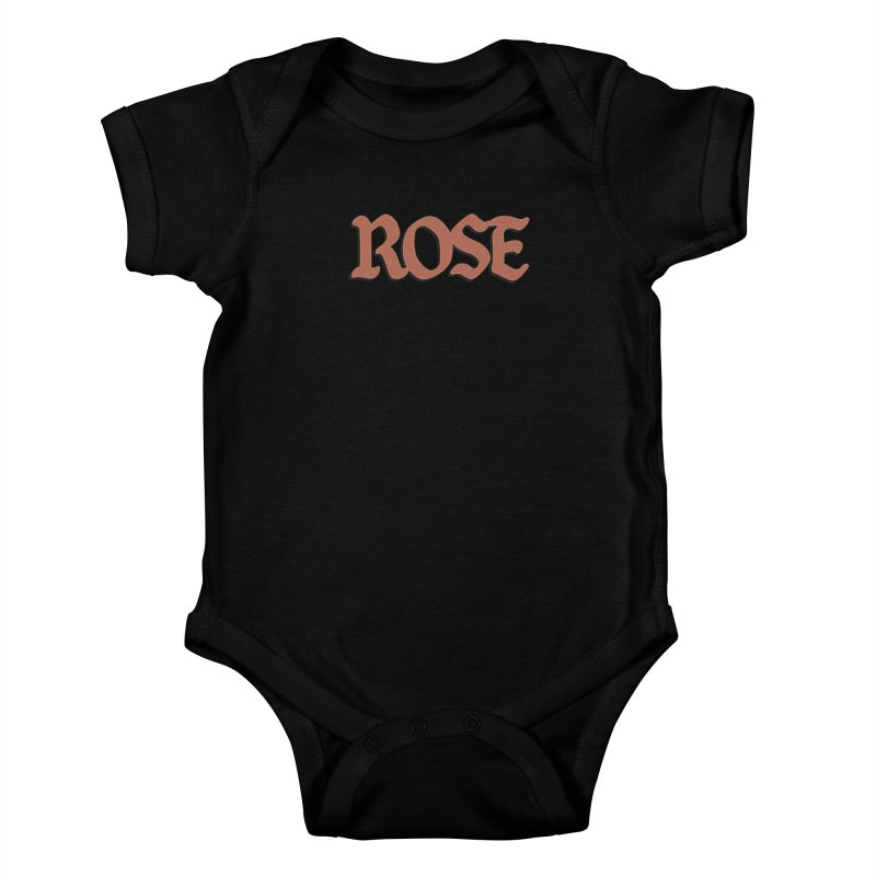 Logo T Kids Baby Bodysuit by ROSEFinch's Artist Shop