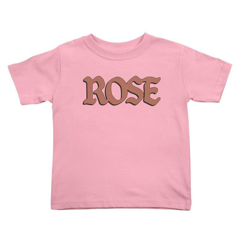 Logo T Kids Toddler T-Shirt by ROSEFinch's Artist Shop