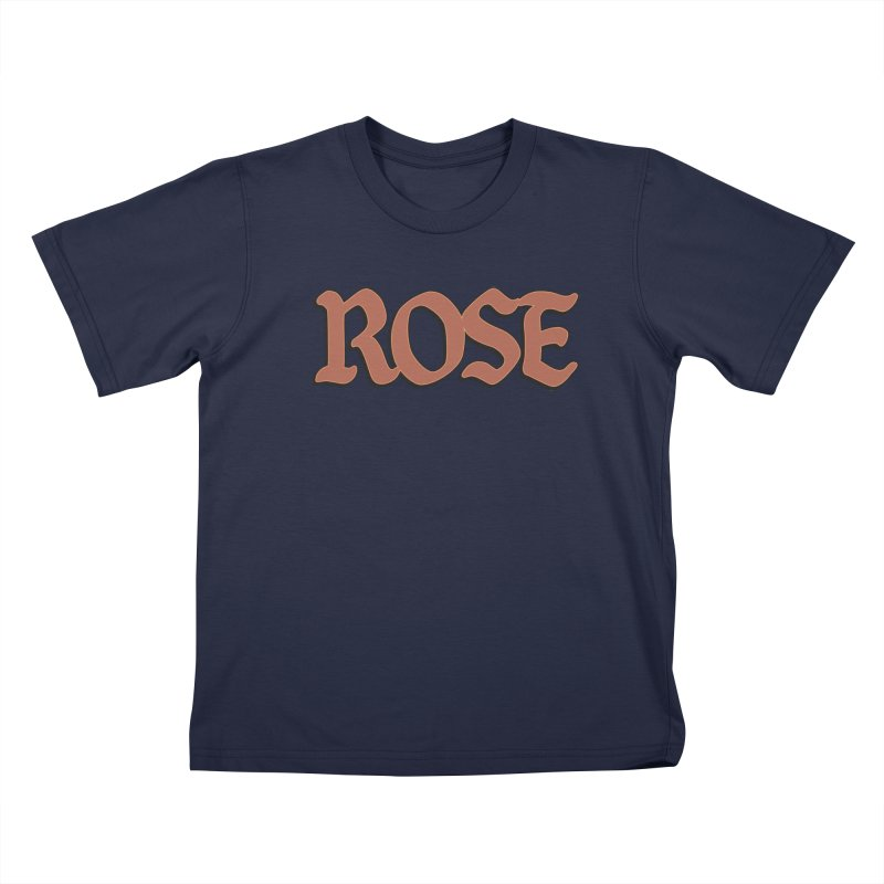 Logo T Kids T-shirt by ROSEFinch's Artist Shop