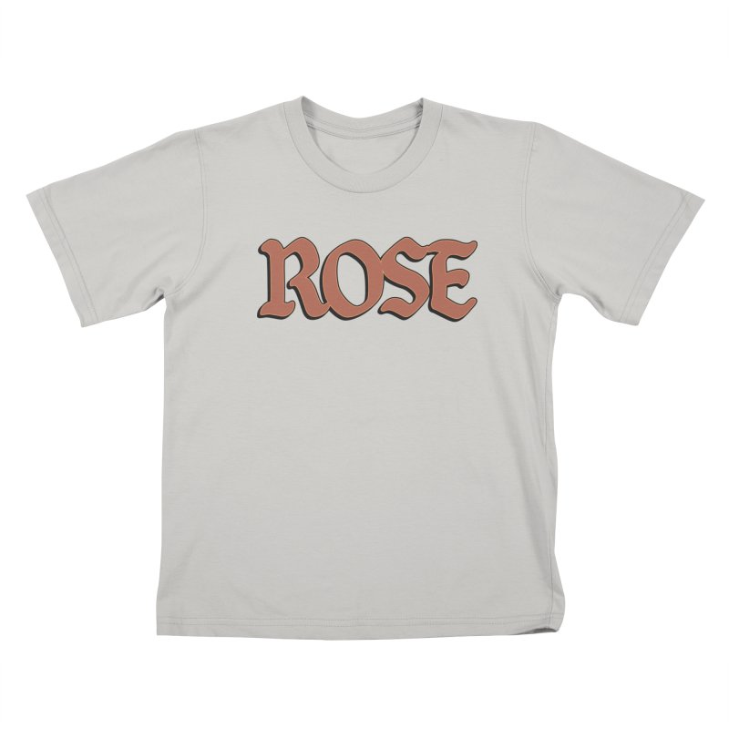 Logo T Kids T-Shirt by ROSEFinch's Artist Shop