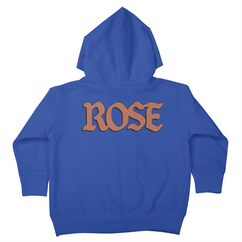 Logo T Kids Toddler Zip-Up Hoody by ROSEFinch's Artist Shop