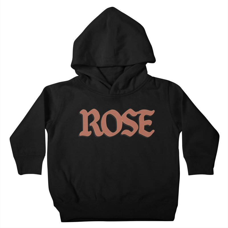 Logo T Kids Toddler Pullover Hoody by Rose
